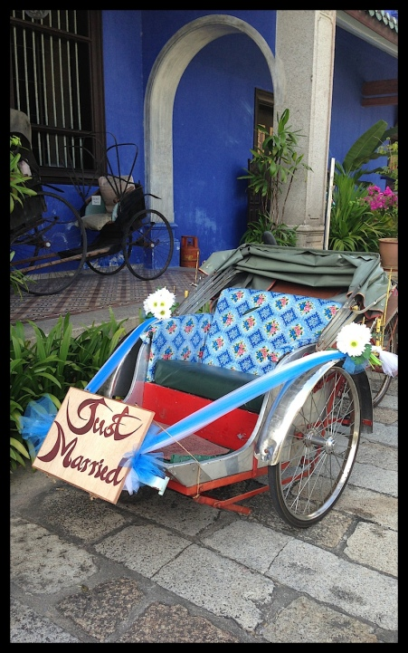 The getaway rickshaw!
