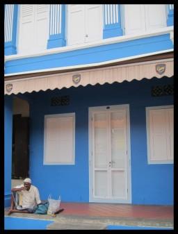 Old man blue