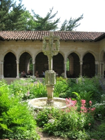 The Cloisters - a hidden gem of culture up in the Bronx.