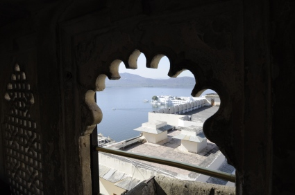 Udaipur - a view from the City Palace
