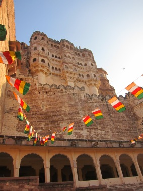 The gorgeous Mehrangarh Fort, Jodhpur