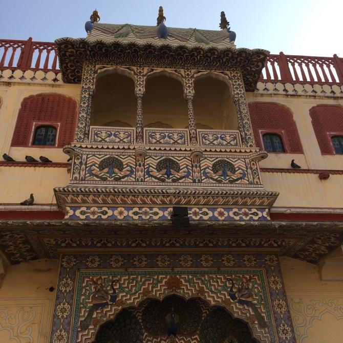 Details at the City Palace - Jaipur