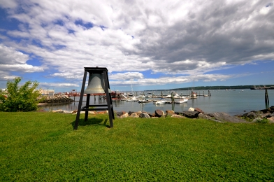 One of the many gorgeous harbors in Maine.