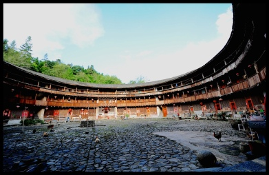 The iconic Tulou's of Fujian, China. Once thriving residential communities, now historic relics.